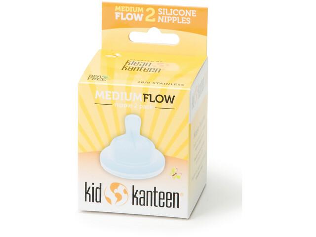 Klean Kanteen Tetinas para biberón Medium, paquete de 2 Niños, clear